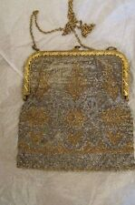 VINTAGE 1900 ERA  GLORIOUS MESH STYLE PURSE