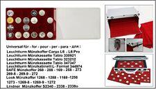 Look 12334-24-46-PRO Plateau pour Monnaies 24 Ronde Cases 46 mm +