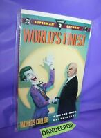 DC Superman Batman World's Finest Number 2 World's Collide 1990 Comic Book