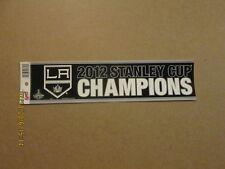 NHL LA Kings 2012 Stanley Cup Champions Bumper Sticker
