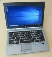 "HP Elitebook 2570p 12.5"" i5-3320M 2.60GHz 120GB SSD 8GB Windows 10 WEBCAM DVD"