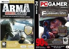 arma armed assault gold & operation flashpoint game of the year edition