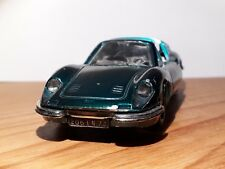 FERRARI 246 GTS DINO 1972 NOREV JET CAR 1/43 DIECAST VOITURE MINIATURE VERT rare