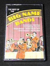 The Best of the Big Name Bands Cassette Tape Jazz Swing Audio Music Piano Man