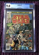Star Wars 2 CGC 9.0 1st Obi-wan Han Solo Chewbacca