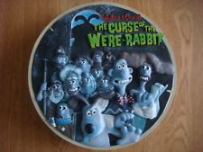 wallace and gromit curse of the were rabbit sculpted collector plate 773 of 3000