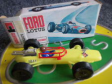 Clifford Lotus 33 F1 Jim Clark Telsalda Lucky Toys Plastic Mint Boxed
