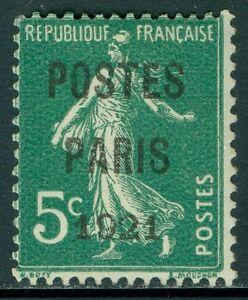 FRANCE : 1921. Yvert Preob #26 Very Fine, Mint Original Gum Hinged Catalog €320