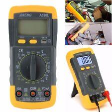 Digital LCD Multimeter A830L Voltmeter DC AC Amperemeter Messgerät Tester DE