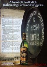 1981 GLENFIDDICH Pure Malt Scotch Whisky Advert #3 - Original Print AD