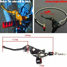 "7/8"" 1200mm MOTORCYCLE HYDRAULIC BRAKE MASTER CYLINDER RESERVOIR CLUTCH LEVER"