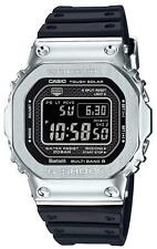 CASIO G-SHOCK GMW-B5000-1JF Metal Silver Black Japan model 2018 Rubber bluetooth