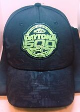 DAYTONA 500 2/26/17 ORIGINAL NASCAR CERTIFIED BLACK HAT BOUGHT DAY OF RACE