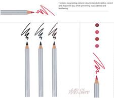 ASAP Pure Mineral Makeup Lip Liner 1 2 3 4  & Eyeliner Pencil Colour 1 2 3