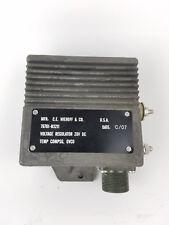 CE Niehoff  Voltage Regulator N3211 28V DC Generator Regulator
