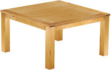 Esstisch Holz Pinie massiv 140x140 Honig Restaurant Küche kolonial Tisch Tische