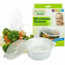 Five A Day 6 Fresh Small Portion Microwave Steamer 6m+