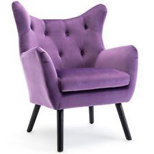 Outstanding Wooden Purple Accent Chairs For Sale Ebay Uwap Interior Chair Design Uwaporg