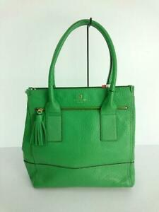 Kate Spade New York  Leather Grn Leather Green Fashion Tote bag From Japan