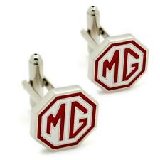 MG CUFFLINKS Car Emblem Logo NEW w GIFT BAG Pair Wedding Groom Men's Accessory