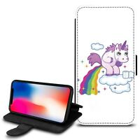 Unicorn PU Leather Stand Wallet Case Cover For Various Mobiles - Ref 125