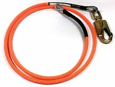 "US Rigging Arborist Flip Line 1/2"" x 12' - 1/4"" Steel Wire Core FLS1612 Flipline"