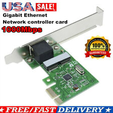 1000Mbps Gigabit Ethernet LAN PCI-E Exrpess Network Card Port Adapter Controll