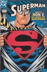 italian edition DC comics SUPERMAN TRADE PAPERBACK # 11 QUESTO NON E' UN LAVORO