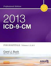 2013 ICD-9-CM for Hospitals, Volumes 1, 2 and 3 Professional Edition, 1e (AMA IC