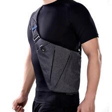 Modern Waterproof Men's Shoulder Bag Nylon Crossbody Bags Messenger Zipper Light