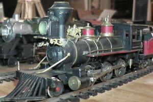 HO Brass 2-6-0 Porter Mogul Old Time Steam Engine Tender Misc. Roads c1960 Japan