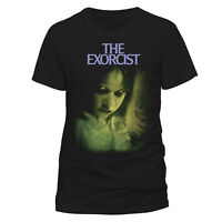 Official The Exorcist Regan T Shirt  NEW Linda Blair Black Small