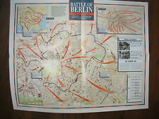 IMAGES OF WAR WWII CAMPAIGN MAP BATTLE OF BERLIN 6 OCTOBER 1944 TO 8 MAY 1945
