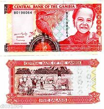 Gambie GAMBIA Billet 5 Dalasis ND 2001 P21 UNC NEUF