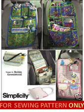 SEWING PATTERN! MAKE CAR ORGANIZERS! TOY~SUPPLY POCKETS 4 KIDS~BABY~ADULTS