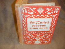 VTG 1950 1ST ED BETTY CROCKER'S PICTURE COOK BOOK 1950 1st ED HARDBACK used