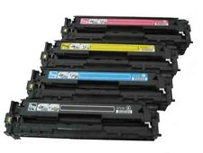 4PK New Toner For HP 125A CB540A - CB543A Color LaserJet CM1312 CP1215 1217 1510