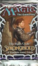 MTG STRONGHOLD BOOSTER PACK 2 (TWO) PACKS FREE SHIP