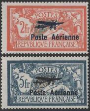 "FRANCE STAMP TIMBRE AVION N° 1/2 "" 2 VALEURS VARIETE HAUBAN BRISE "" NEUF xx TTB"