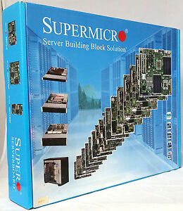 Supermicro 16-DIMM Xeon Dual-Core Blackford Serverboard X7DBE+ (MB ONLY)