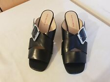 PS by Paul Smith leather block Heels women's  Sandals Black Strappy size 39