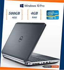 """PC portatile notebook usato ricondizionato 15,6"""" pollici Dell E5530 i5 4gb 500gb"""
