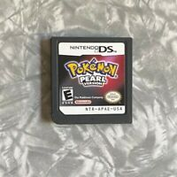 Pokemon Pearl Version DS Nintendo DS VG Authentic Cartridge Cleaned & Tested