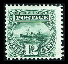 US #117; 12¢ PICTORIAL ADRIATIC ISSUE, F-OG-LH, PSE GRADED, SMQ $1,100