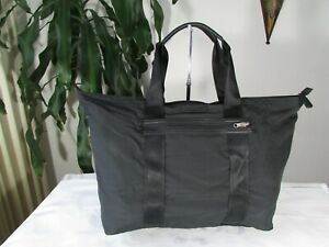 NWT COACH F93314 NYLON VARICK PACKABLE WEEKEND TOTE BLACK