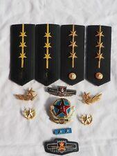 military epaulettes cockade 07 - China Army Honour Guard Senior Lieutenant