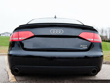 Carbon Fiber Audi A5 S5 8T3 Coupe  Boot Spoiler Lip  Sport Trim S Line UK Seller