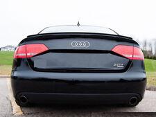 Fibre de carbone Audi A5 S5 8T3 coupe BOOT SPOILER Lip Sport TRIM S LINE Vendeur Britannique