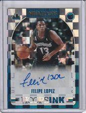 Felipe Lopez 2018-19 Hoops Ink Autograph Card