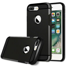 Shockproof Dual Layer Rugged Gel Plastic Hybrid Case Cover for iPhone 6s/7/Plus